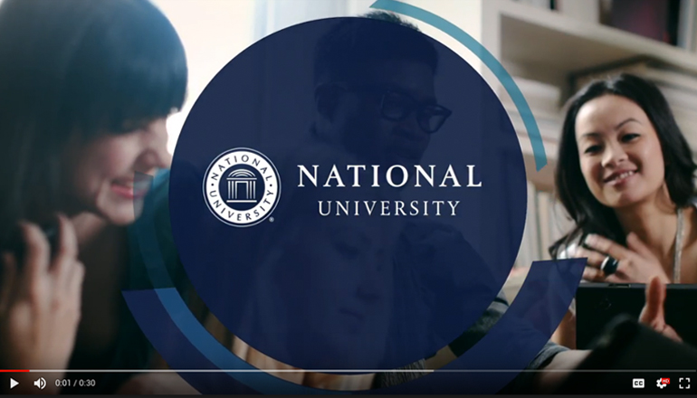 REQ National University Video Advertising YouTube