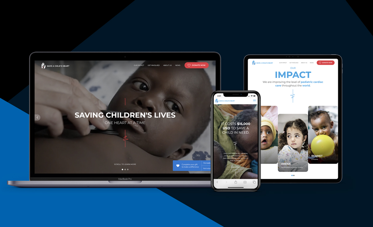 REQ Save a Child's Heart Website Redesign