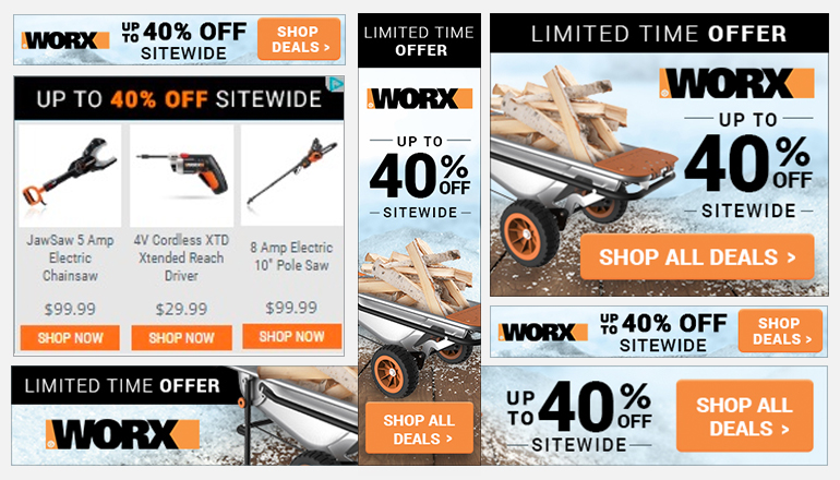 REQ WORX Tools Display Advertising