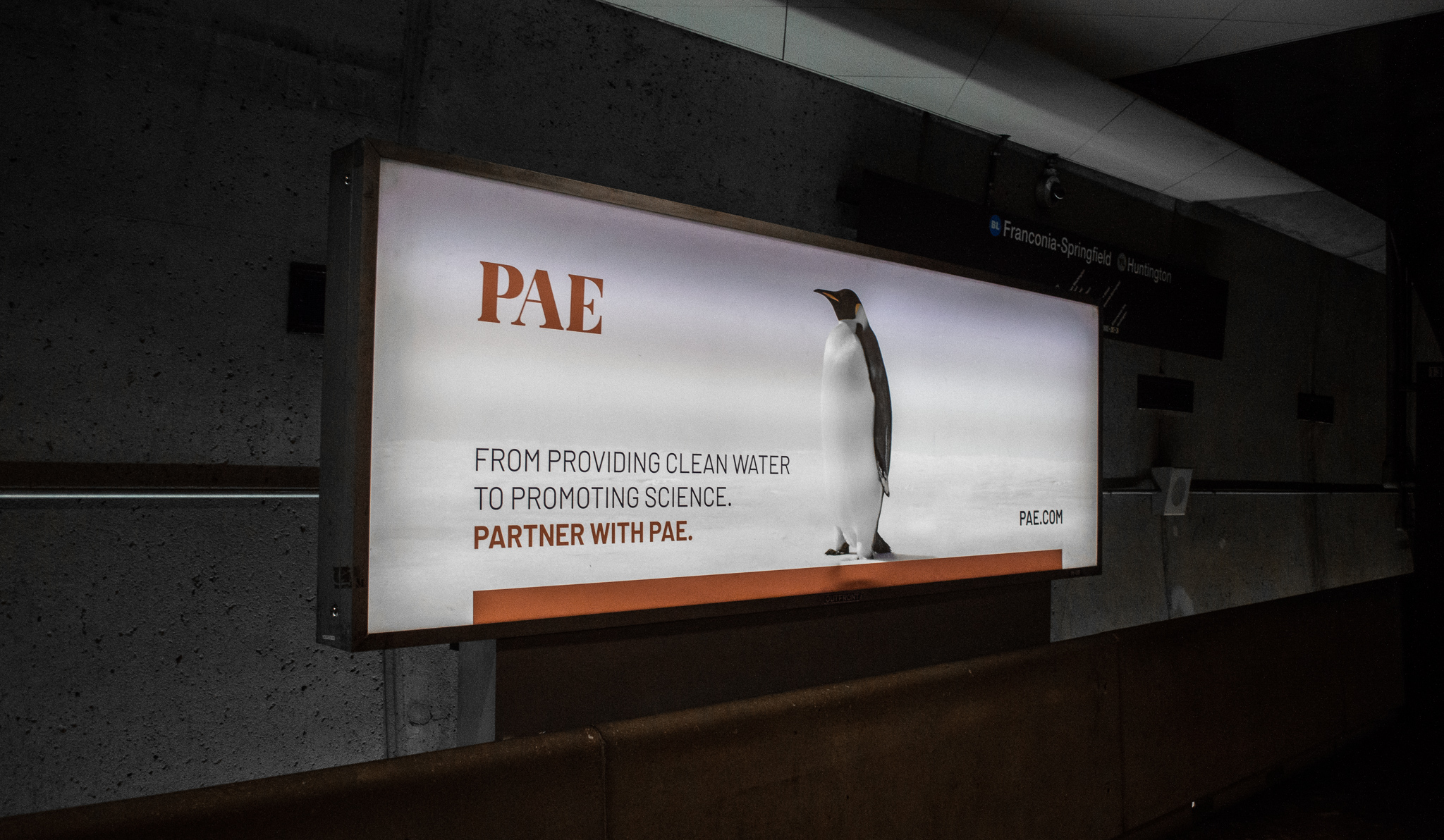 REQ PAE Metro Takeover Advertising