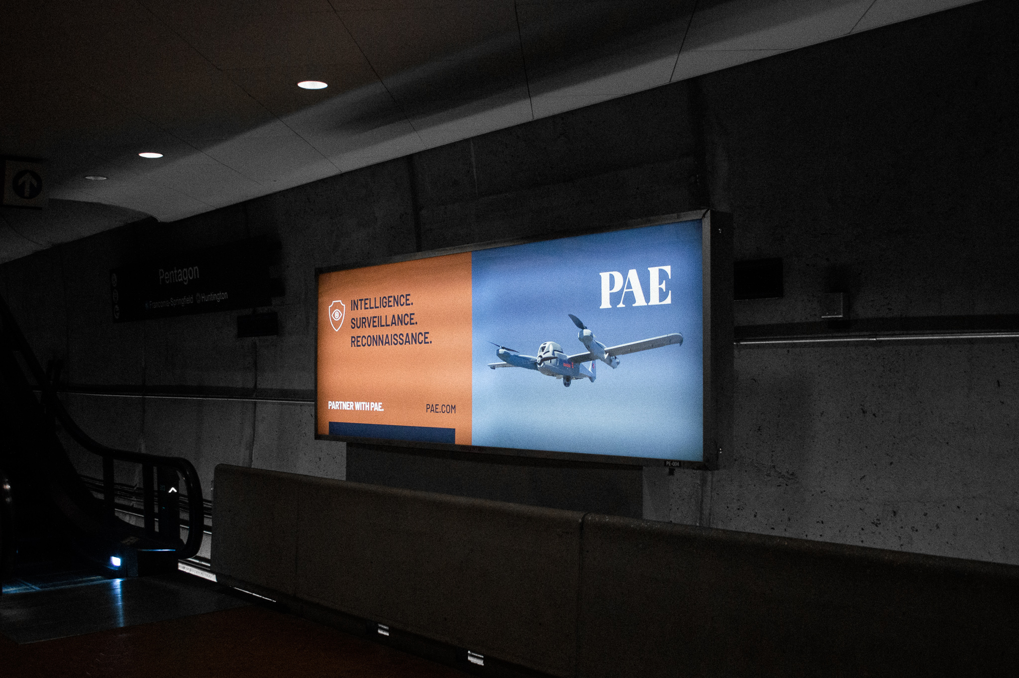 REQ PAE Metro Takeover Out-of-home Advertising