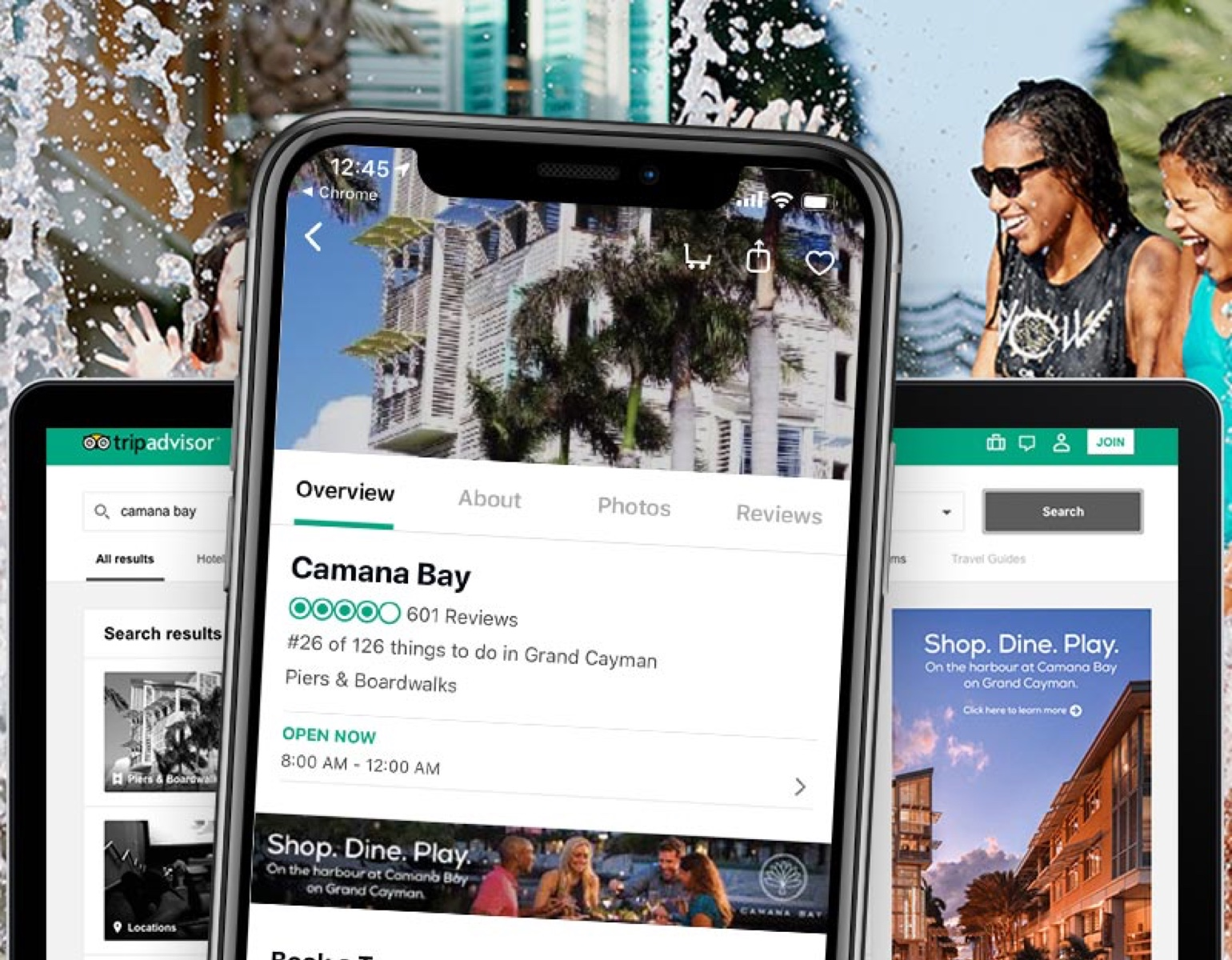 REQ Camana Bay TripAdvisor Advertising