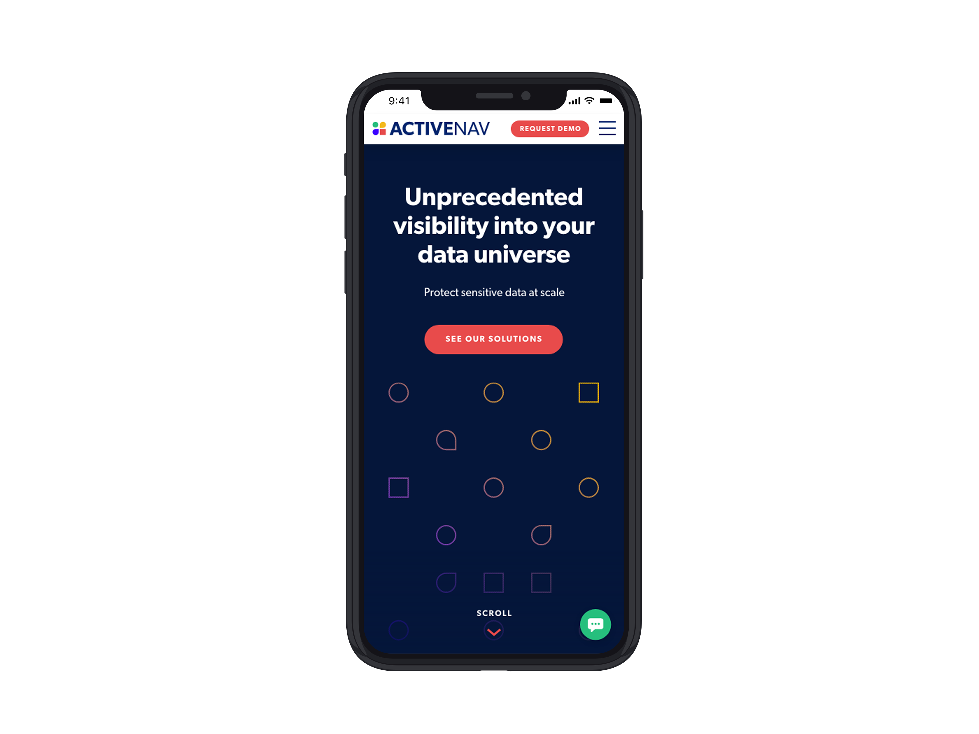 ActiveNav Mobile Website