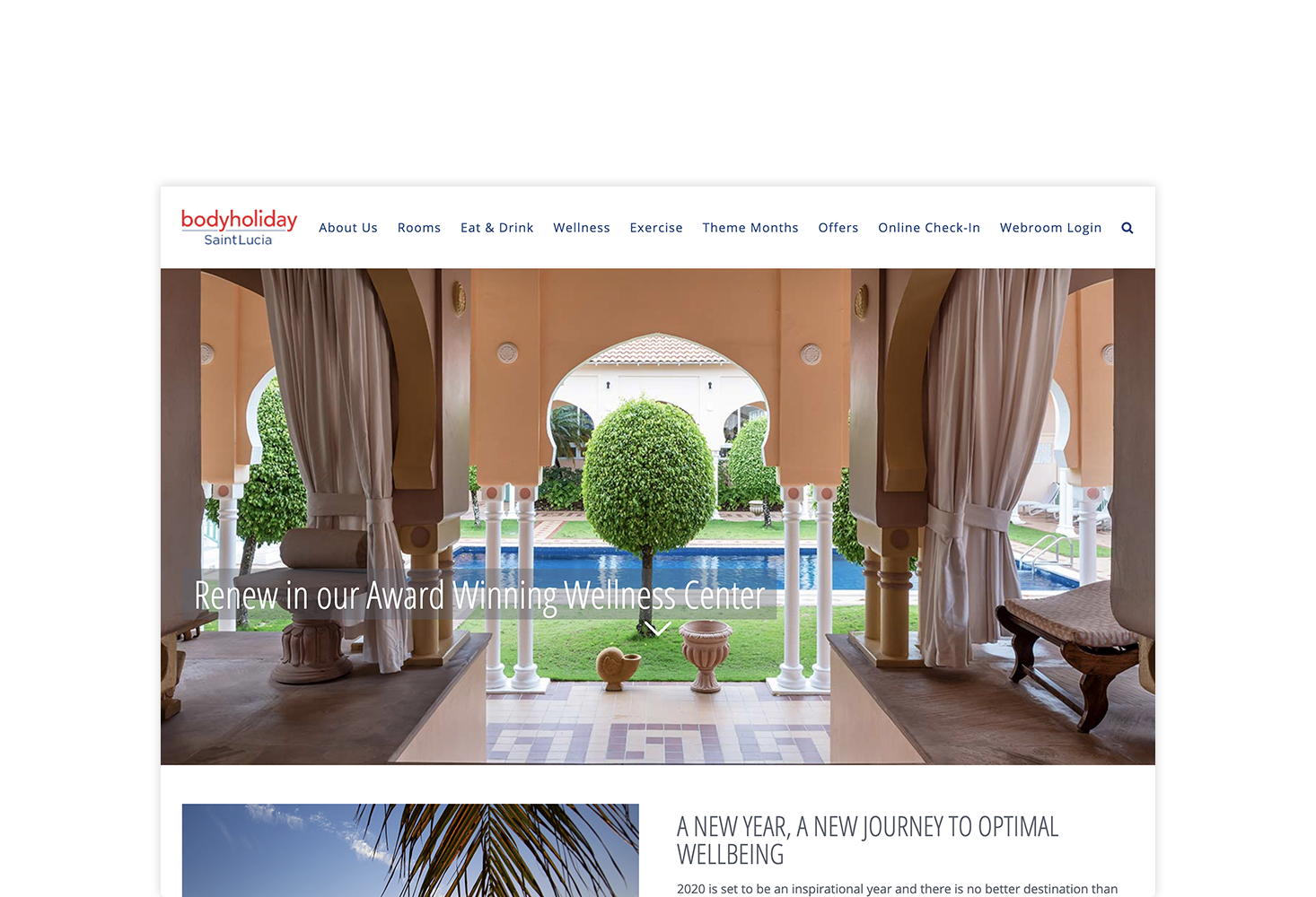 REQ Sunswept Resorts BodyHoliday Website