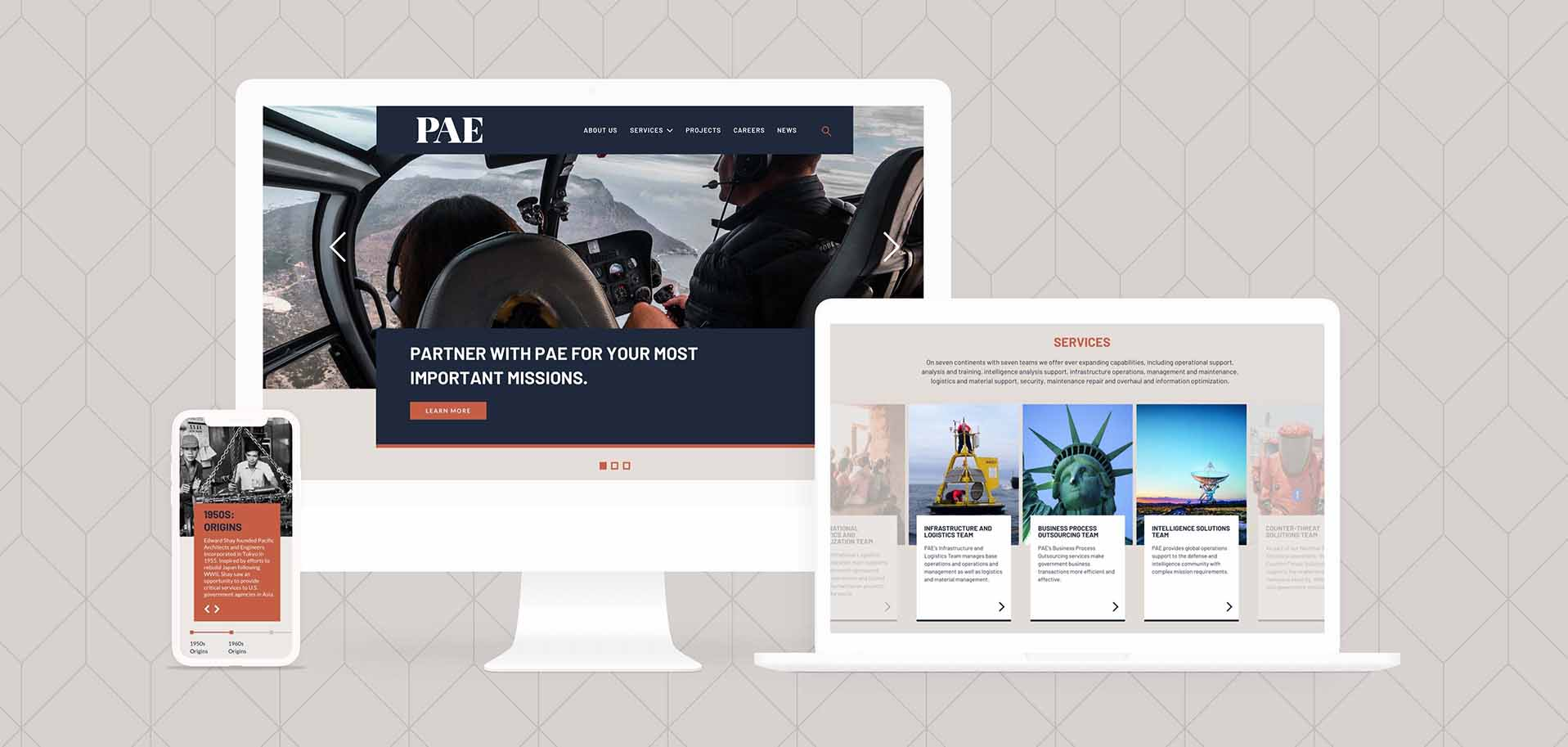 REQ PAE Mobile Website