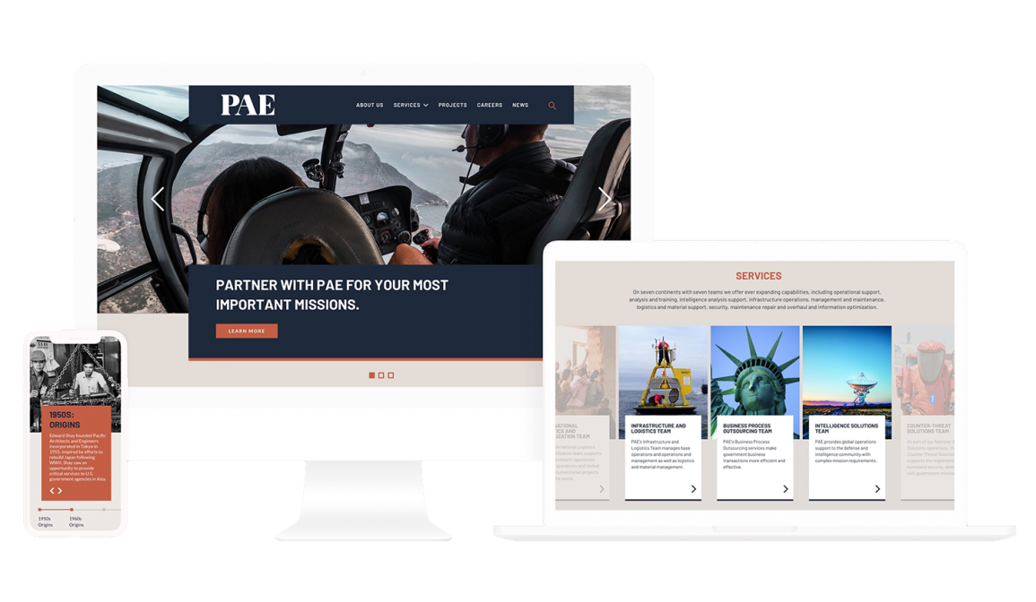 REQ PAE Website Redesign Drupal