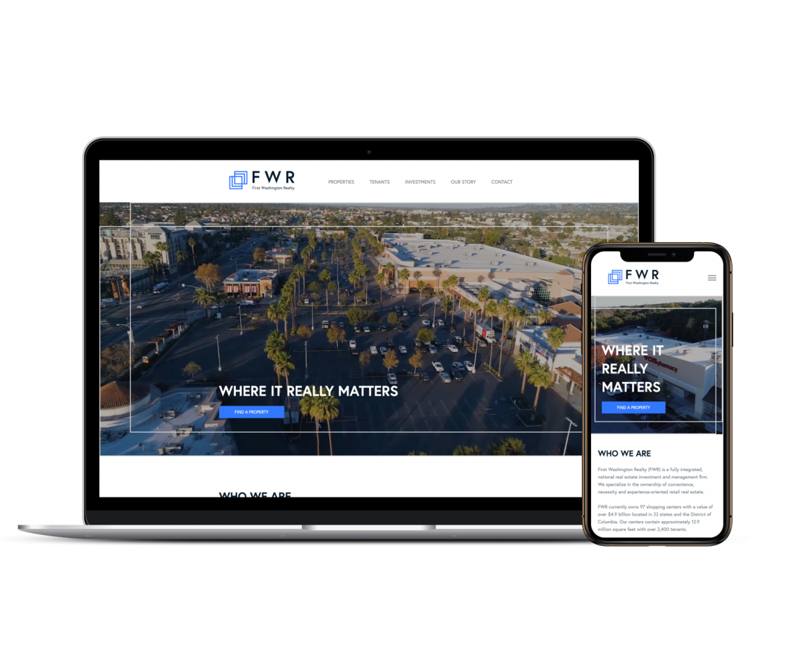 REQ First Washington Realty Website