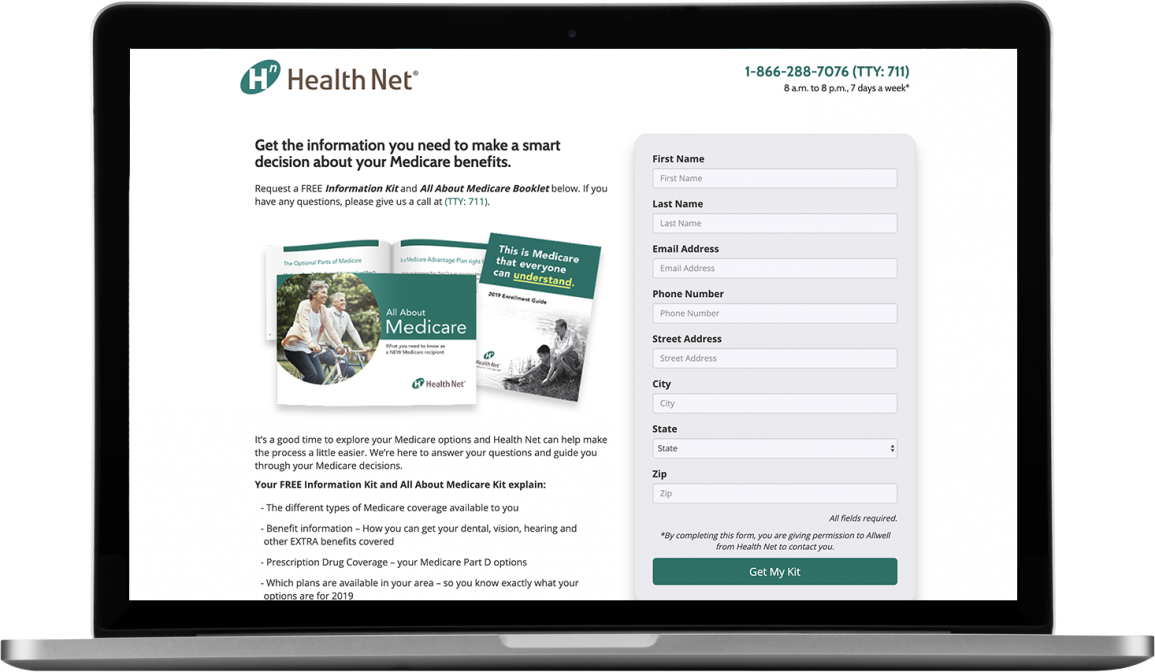 REQ Centene Health Net Allwell Digital Case Study