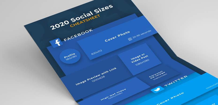 REQ 2020 Social Media Image Sizing Infographic