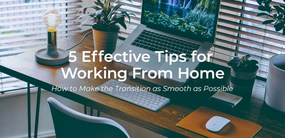 5 Effective Tips for Working From Home