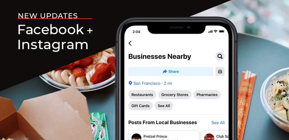 REQ New Facebook and Instagram Updates to Help Local Businesses