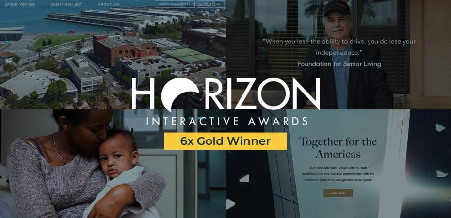 REQ 2020 Gold Horizon Interactive Awards