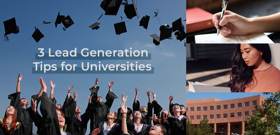 REQ 3 Effective Lead Generation Tips for Universities
