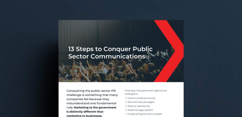 13 Steps to Conquer Public Sector Communications