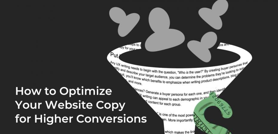 REQ How to Optimize Your Website Copy for a Better User Experience/Higher Conversions