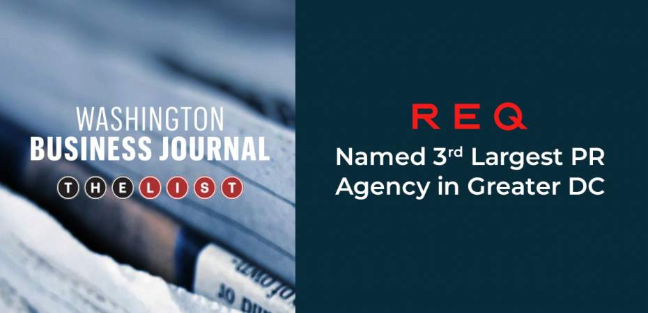 REQ 2020 Washington Business Journal Largest PR Agencies