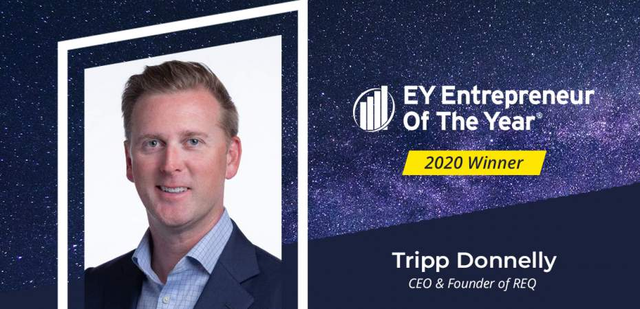 Tripp Donnelly EY Entrepreneur of the Year Winner 2020