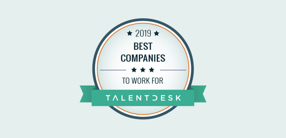 REQ Talent Desk Best Companies to Work For 2019
